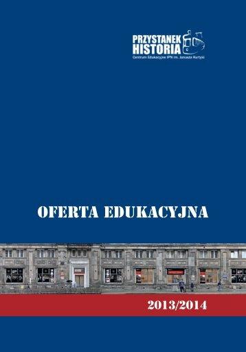 oferta edukacyjna - Przystanek Historia - Instytut Pamięci Narodowej