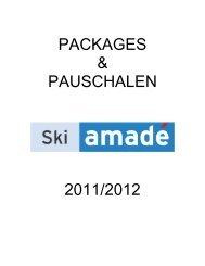 pauschalen - Tourismusverband Flachau