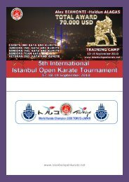 training camp (10-16 september 2010) - Karate zveza Slovenije