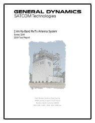 Series 3244 Ka-band Linear - General Dynamics SATCOM ...