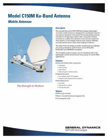 Data Sheet - General Dynamics SATCOM Technologies