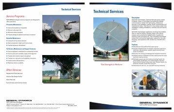 Technical Services - General Dynamics SATCOM Technologies