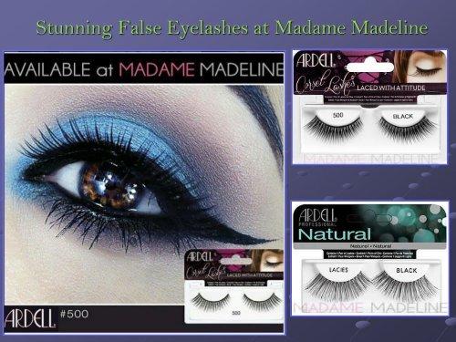 a4ba80bfb99 Stunning False Eyelashes at Madame Madeline