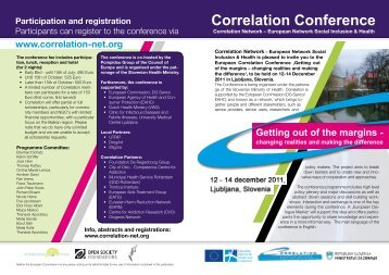 Correlation Conference - Correlation Network