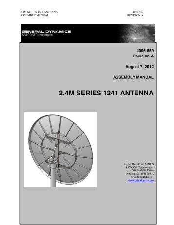 4096-859 - General Dynamics SATCOM Technologies