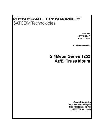 4096-356 - General Dynamics SATCOM Technologies