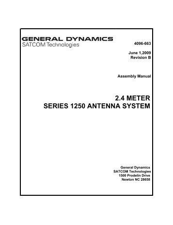 4096-663 - General Dynamics SATCOM Technologies