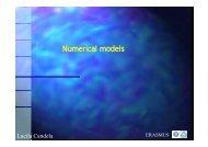 Numerical Numerical models