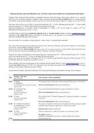 Program rada sekcije Obrazovanje na XXII ... - E-Å¡kola kemije