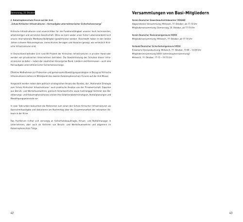 Kongressprogramm - VDGAB