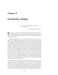 Chapter 28 Irrationally winding - ChaosBook.org