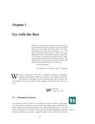 Chapter 2 Go with the flow - ChaosBook