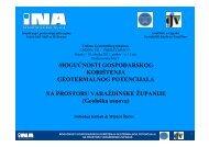 Kolbah (INA) - Geotehnički fakultet - Sveučilište u Zagrebu