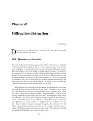 Chapter 38 - Diffraction distraction - ChaosBook