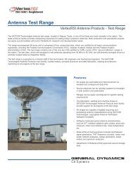 Antenna Test Range - General Dynamics SATCOM Technologies