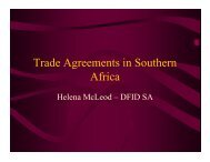 McLeod-Trade Agreements in Southern Africa - The African ...
