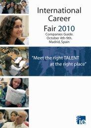 International Career Fair 2010 - IE