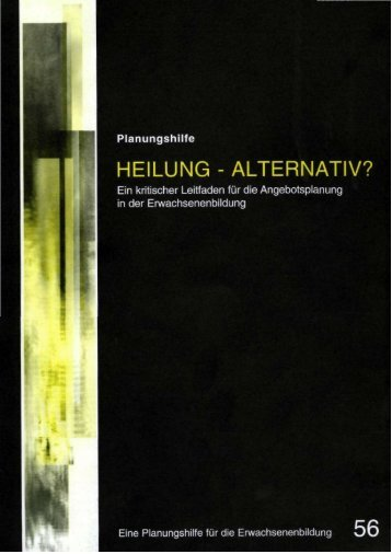 Heilung alternativ 56 - Erzbistum Köln