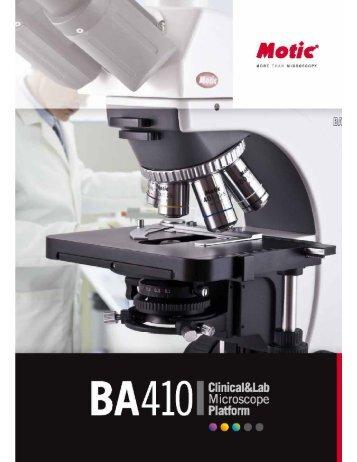 m-depot motic ba410 - The Microscope Depot