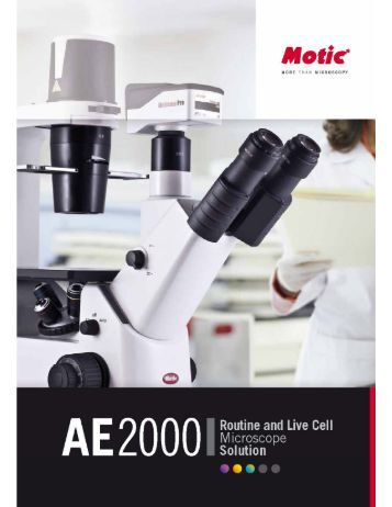 m-depot motic AE2000 - The Microscope Depot