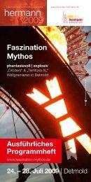 24. – 28. Juli 2009 - Faszination Mythos