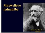 Maxwellove jednadžbe
