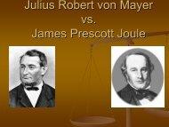 Julius Robert von Mayer i James Prescott Joule