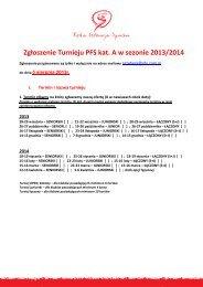 Formularz zgloszeniowy turniejow kat. A na sezon 2012/13 (pdf)