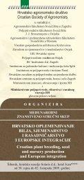Detaljnije informacije - Institut za jadranske kulture i melioraciju krša