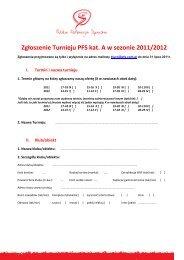 Formularz zgloszeniowy turniejow kat. A na sezon 2011/12 (pdf)