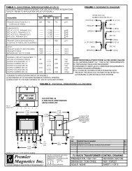 TSD-1197 - Premier Magnetics