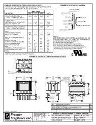 TSD-1439 - Premier Magnetics