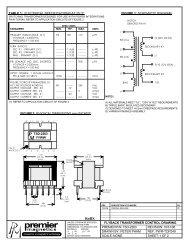 TSD-2283 - Premier Magnetics
