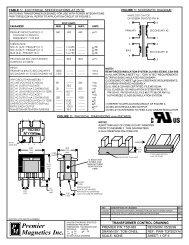 TSD-983 - Premier Magnetics