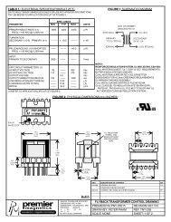 PNY-05015 - Premier Magnetics