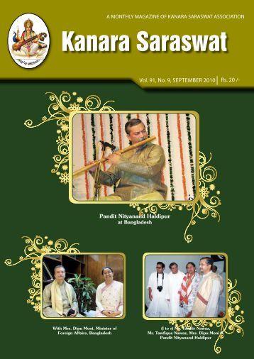 Magazine of September - 2010 - Rups.net