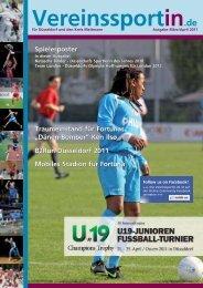 Ausgabe März 2010 - VereinssportIn.de - Agentur für Medientechnik ...