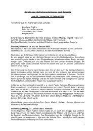 Bericht Reise Tanzania - St. Viti Kirchengemeinde Leiferde