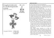 Ausgabe 1-2010 - St. Viti Kirchengemeinde Leiferde