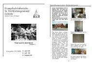 Ausgabe 2-2009-Juni-August - St. Viti Kirchengemeinde Leiferde