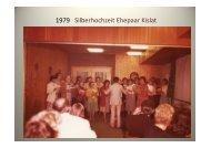 Kirchenchor-Fotosvon 1979 bis 2010