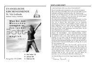 Ausgabe 4-2008-Dezember-Februar - St. Viti Kirchengemeinde ...