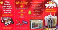 You know you want to shake it some more! - Make a Shake