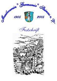 Kopie von Festschrift 05.03.01 - Musikverein Germania Steinau eV