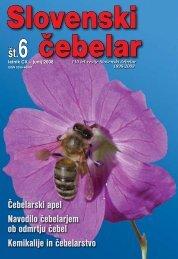 Slovenski čebelar - Čebelarska zveza Slovenije