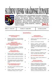 Službeni vjesnik Varaždinske županije 04-12 - Općina Ljubešćica