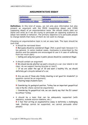 good topic for argument essay argumentative essay example  argumentative essay example argumentative essay topics for how to write a good argumentative essay