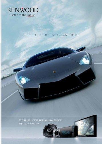 CAR ENTERTAINMENT 2010 • 2011 - Kenwood