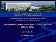 2. JZK OB Karlovac - Hrvatska udruga medicinskih sestara