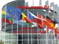 Koraci prema EU Sarajevo.pdf - Hrvatska udruga medicinskih sestara